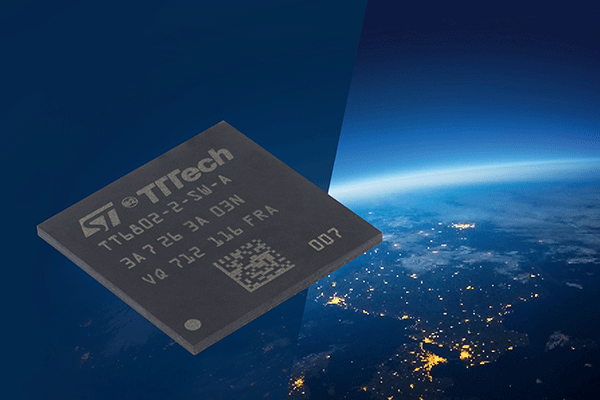 TTTech Aerospace's SoC TTEthernet® network controllers TTEEnd System Controller HiRel and TTESwitch Controller HiRel have been qualified for spaceflight by STMicroelectronics (Credit: TTTech Computertechnik AG)