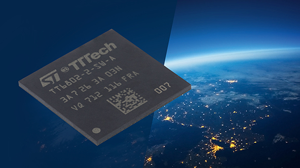 TTTech Aerospace's highly integrated radiation-hardened TTEthernet<sup>®</sup> network controllers for space entering series production