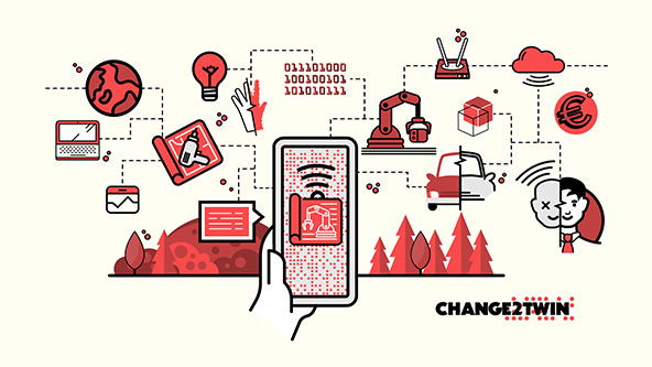 EU-funded Change2Twin Project launches first Open Call to speed up industrial digitalization in Europe